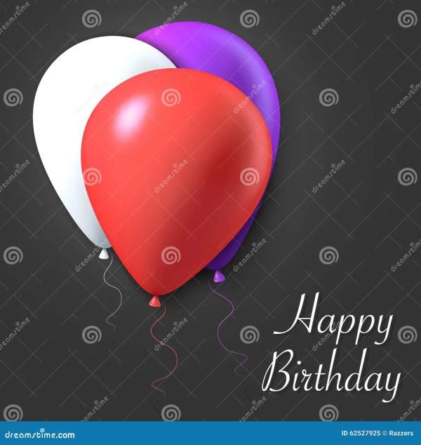 С днем рождения плакат карточки подарка вектора с ...