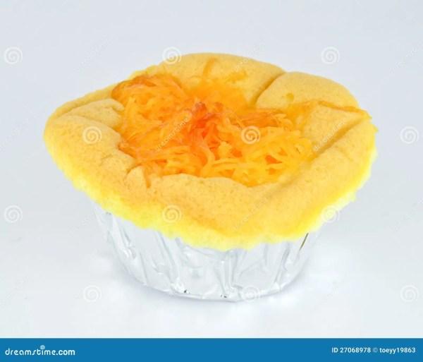 Торт губки с тортом ToppingSponge десерта золотых потоков ...