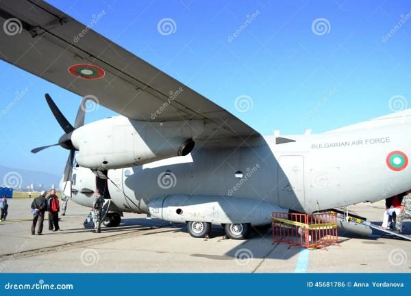 Транспортный самолет C-27J спартанский воинский ...