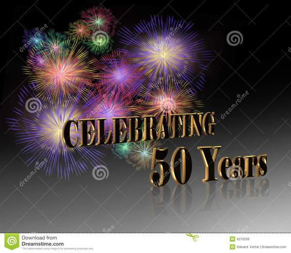 50th Anniversary Celebration Royalty Free Stock Images ...