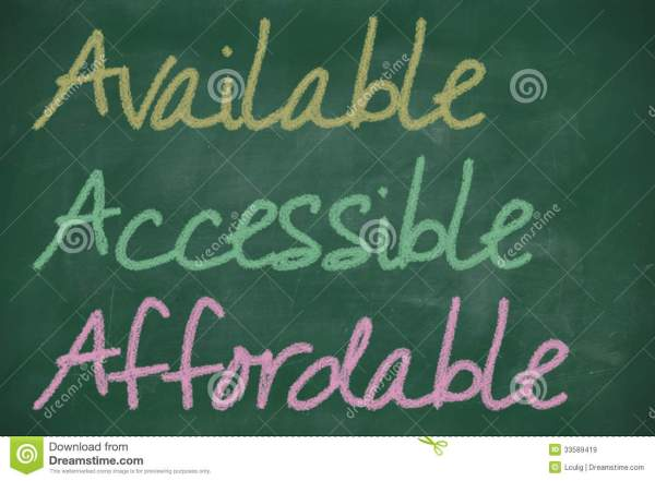 AAA For Available, Accessible And Affordable Stock ...