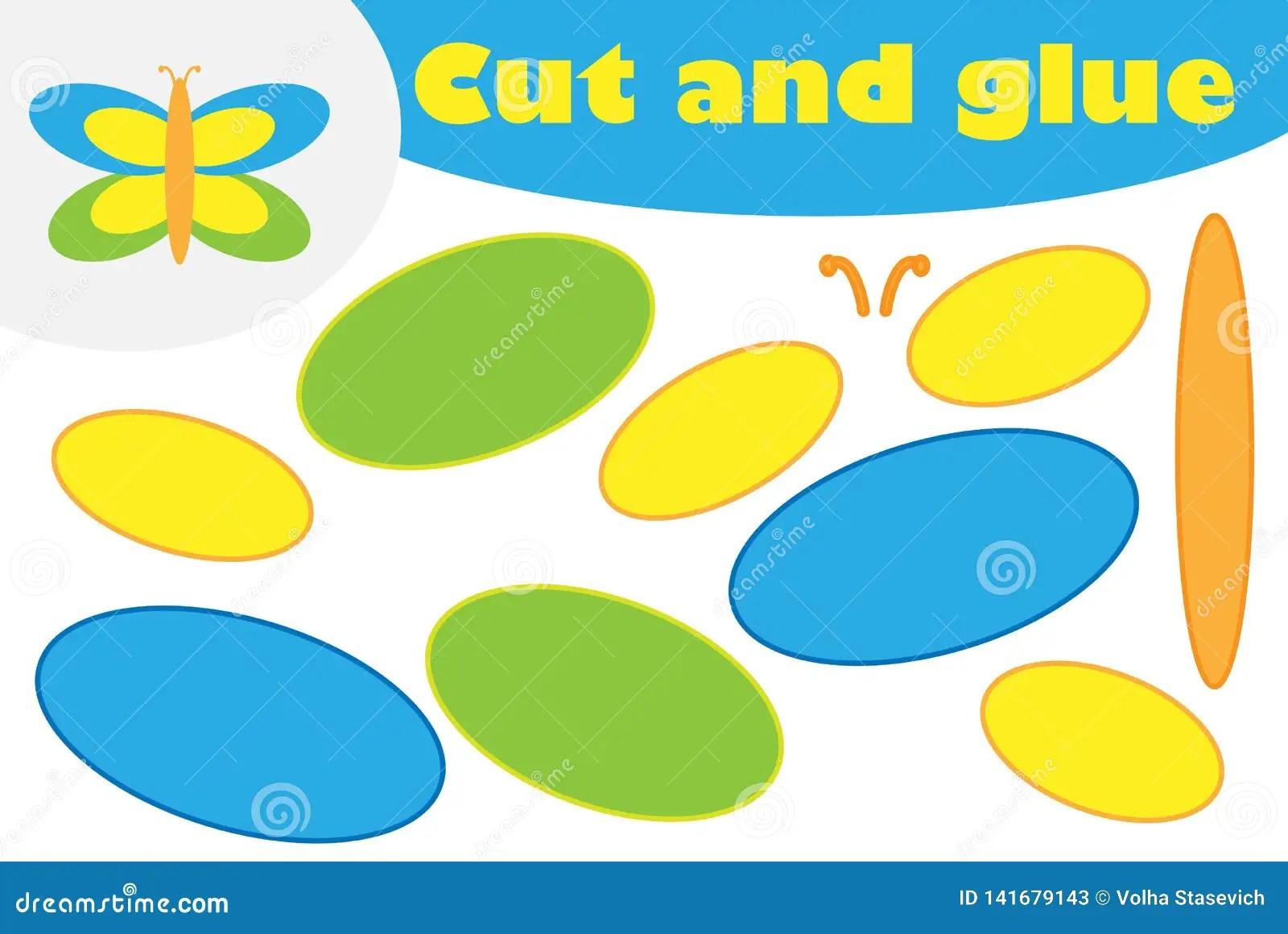 Aanpassend Spel Voor Kinderen Verbind Kleurrijke Vogels