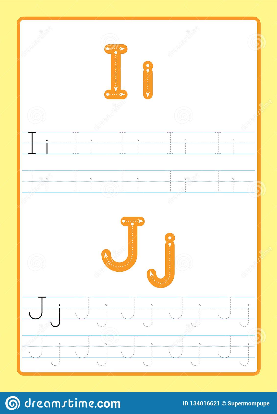 Abcd Worksheet For Kids