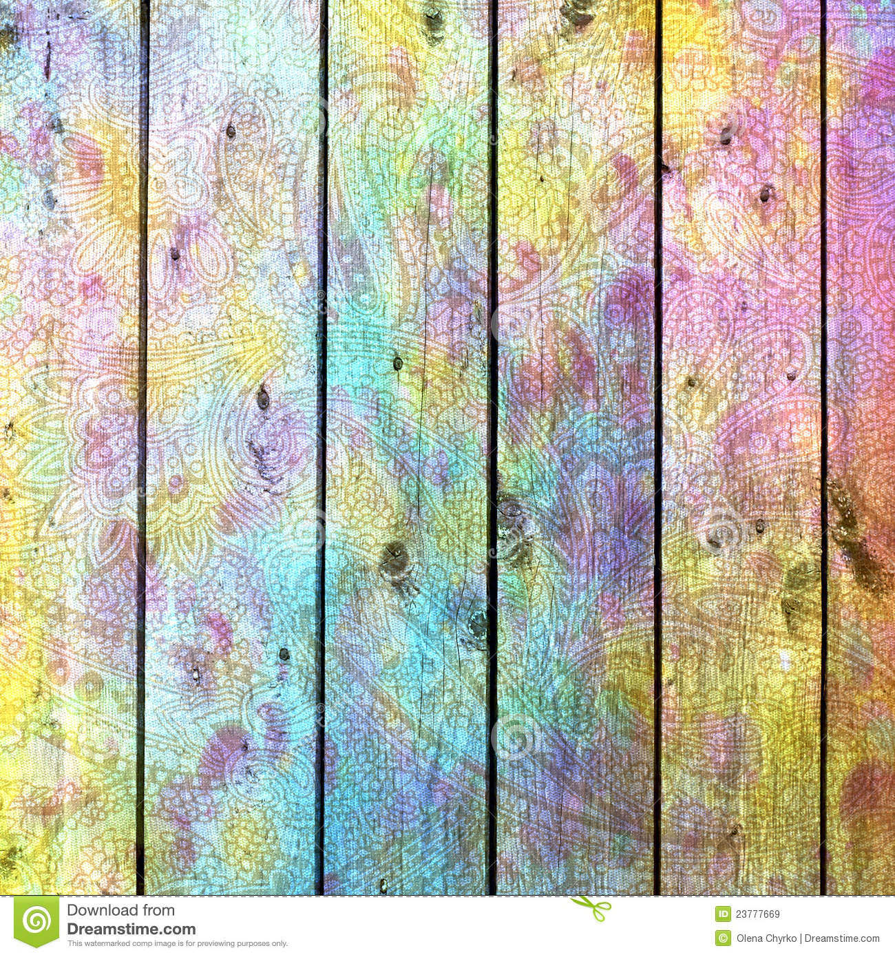 Abstract Background Colorful Board Royalty Free Stock