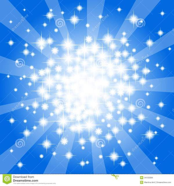 Abstract Blue Star Background Stock Vector - Illustration ...