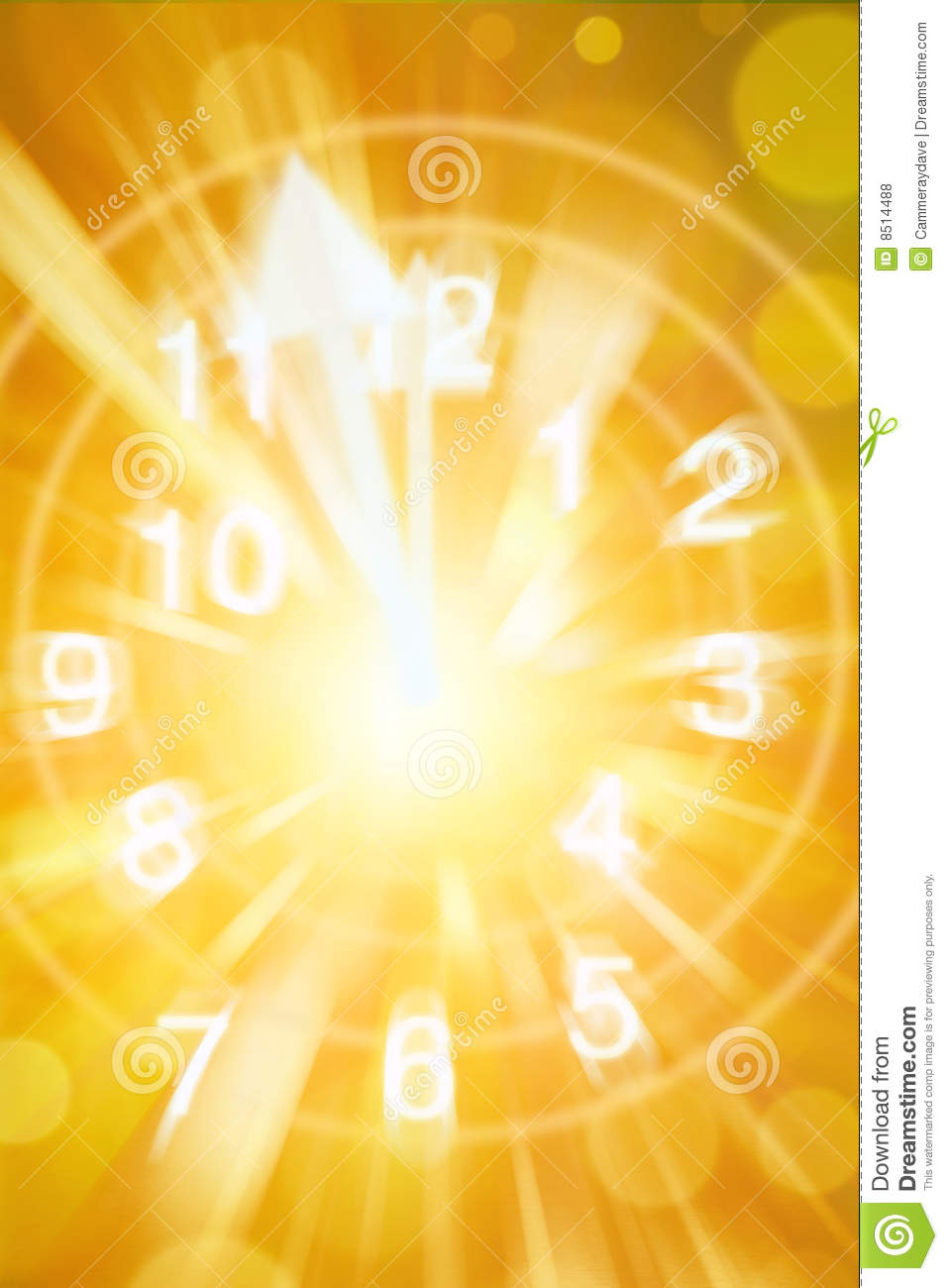 Abstract Clock Time Background Royalty Free Stock Photos