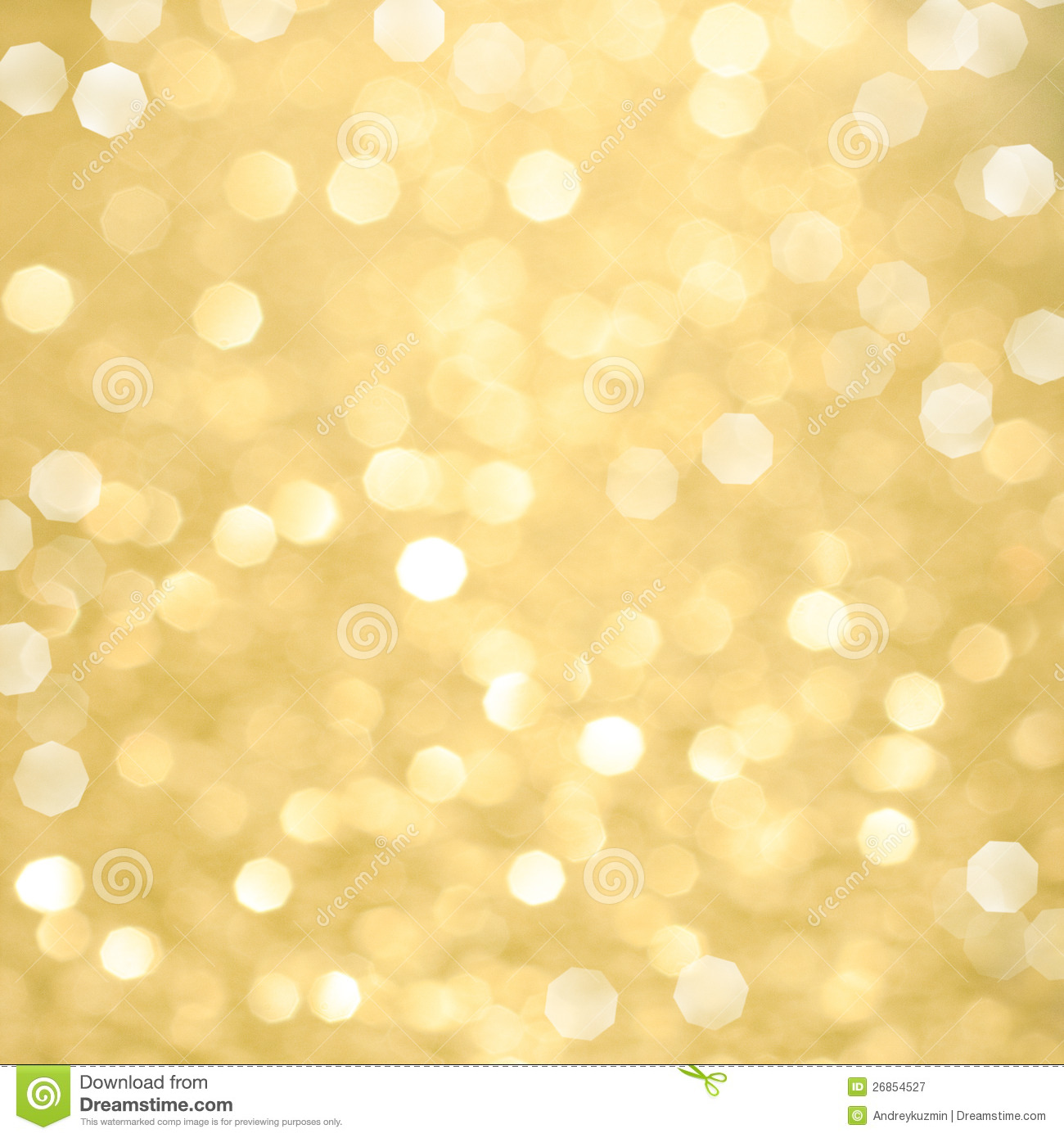 Abstract Golden Christmas Background Stock Image