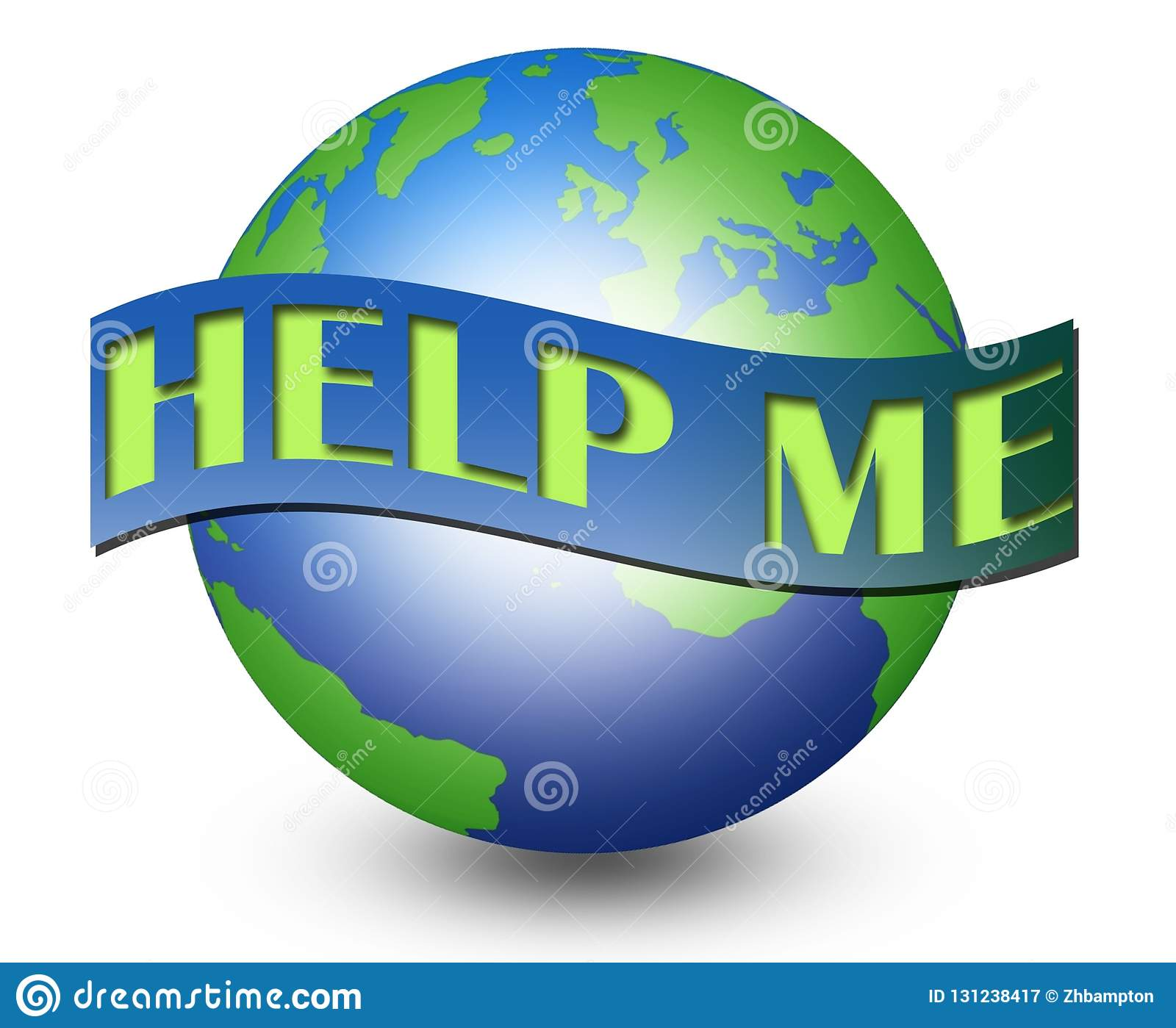 Save The Planet Earth Clip Art Stock Illustration