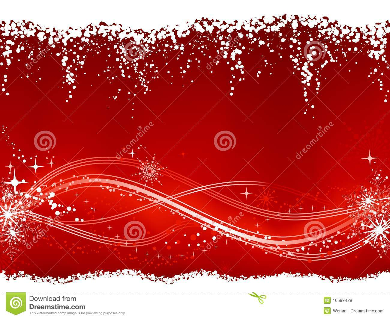 Abstract Red White Christmas Winter Background Royalty