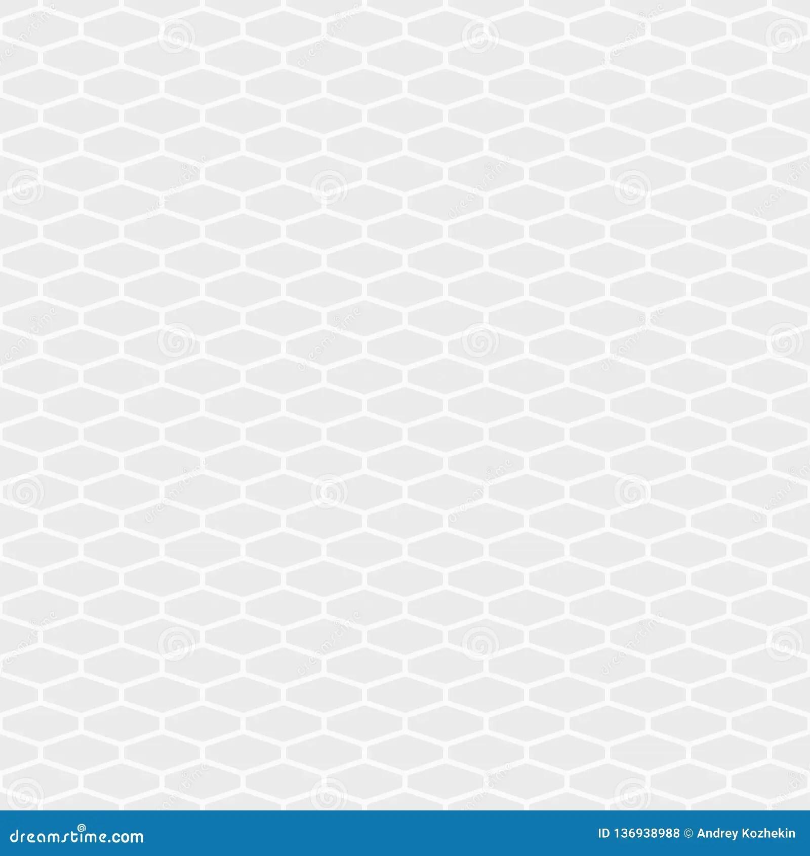 https www dreamstime com abstract seamless pattern elongated hexagon tiles white gray geometric texture hexagonal grid design wallpaper motif linear image136938988