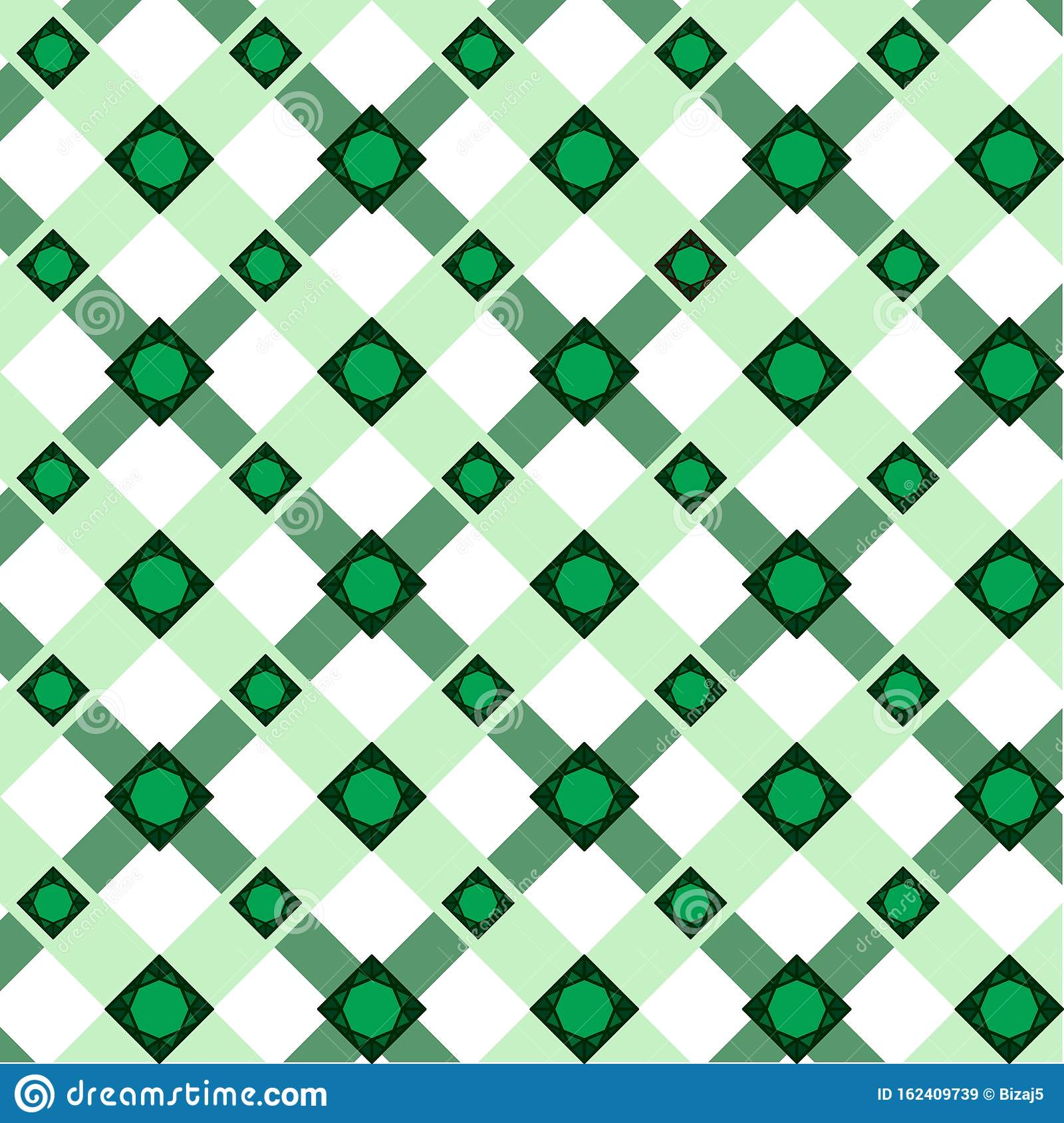 Abstract Vector Geometric Pattern Of Wide Intersecting