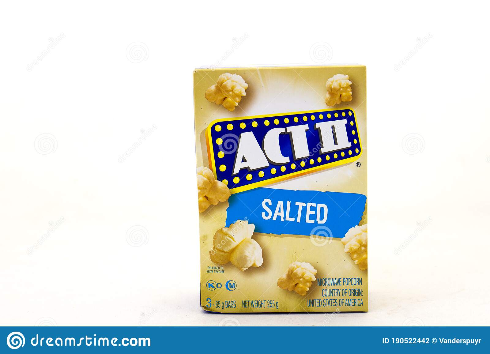 act 2 salted microwave popcorn editorial photography image of background alberton 190522442
