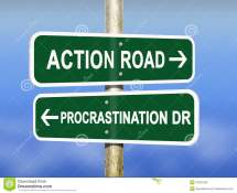 Action and Procrastination