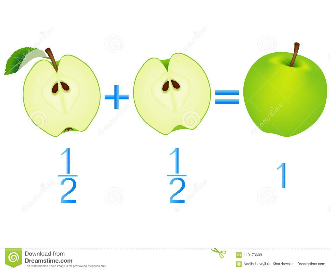 Action Relationship Of Addition Halves Examples With