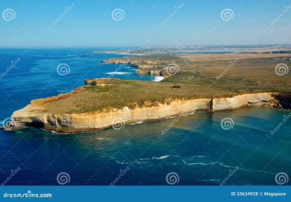 Aerial View On Great Ocean Road, Great Ocean Road ...