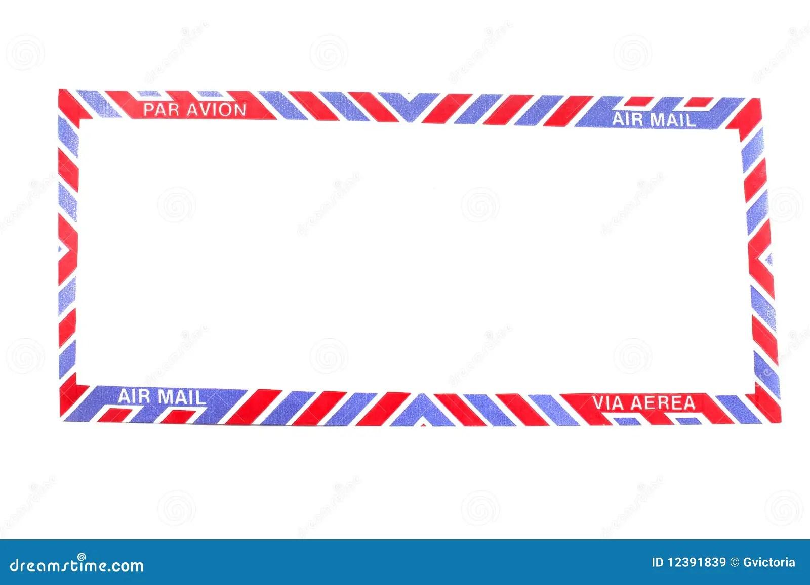 Air Mail Envelope Border Royalty Free Stock Images Image