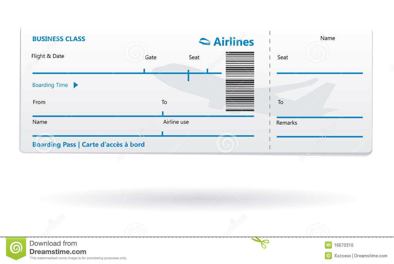 Search Results For Blank Airline Ticket Template Calendar