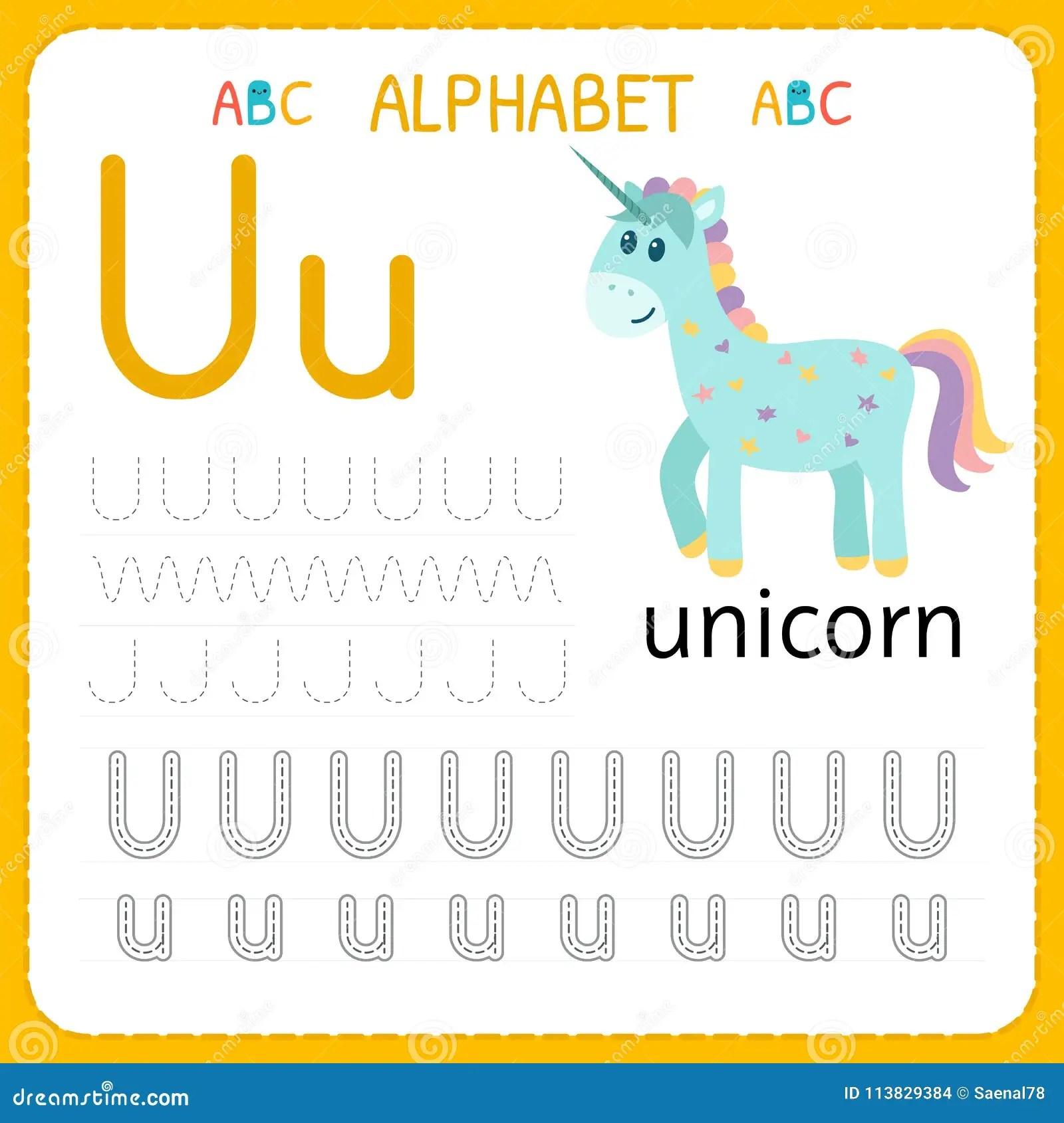 Alfabet Vindend Aantekenvel Voor Kleuterschool En