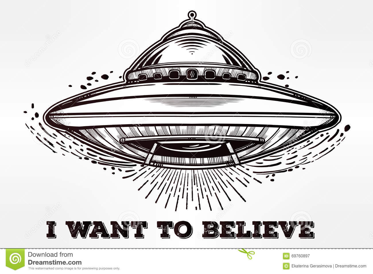 Flying Saucer Clipart