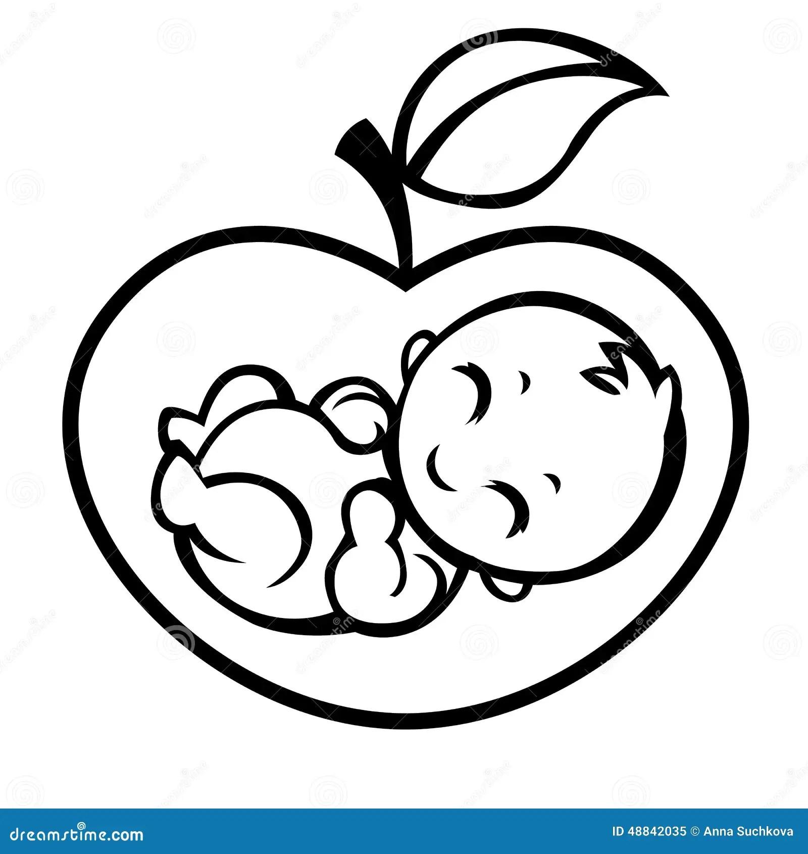 Allegorical Symbol Of Motherhood Stock Vector