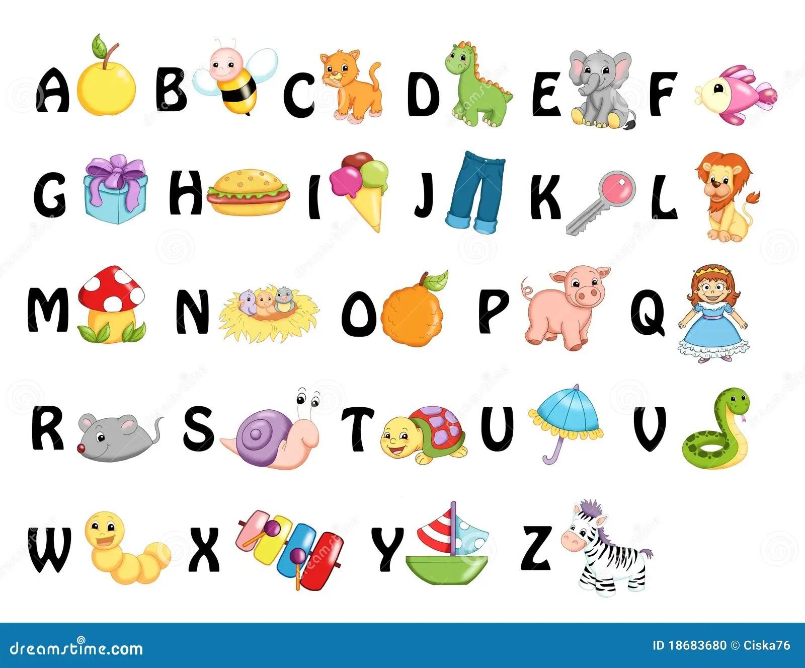 Alphabet Stock Illustration Illustration Of Icon Child