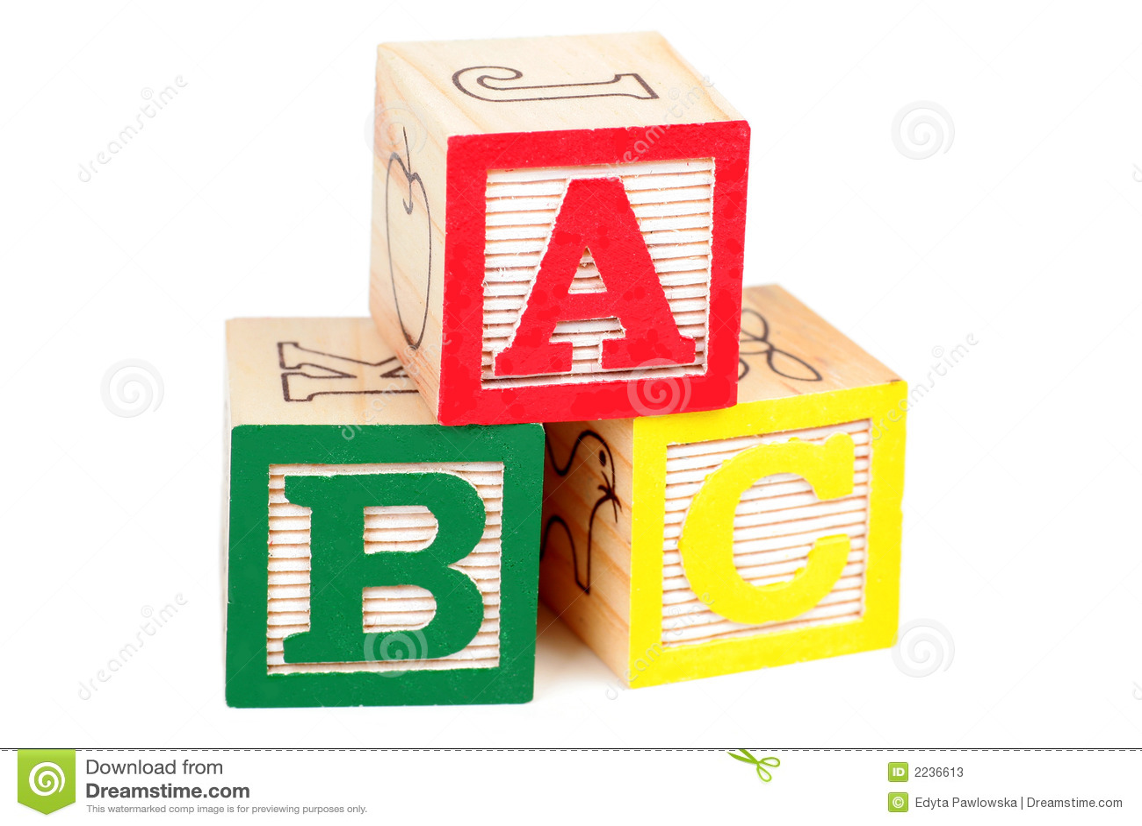 Alphabet Blocks Stock Image Image Of Play Playing