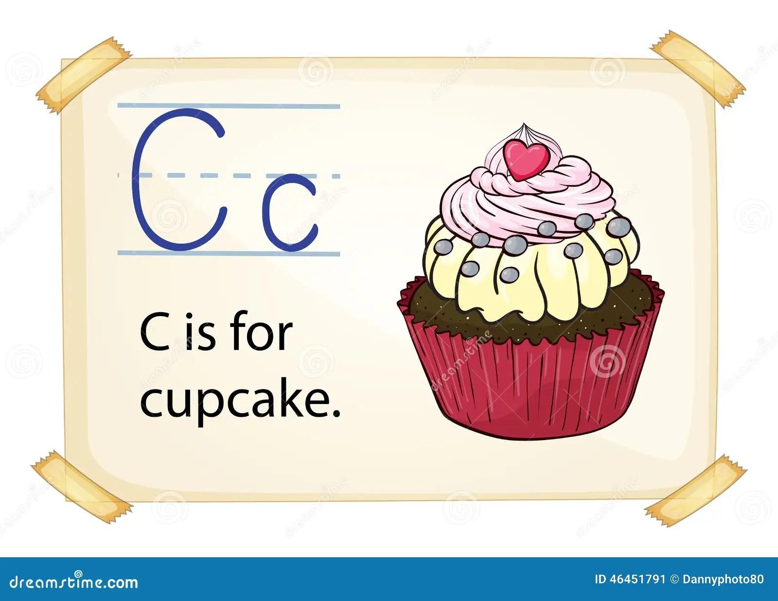 Alphabet Letter C Stock Vector