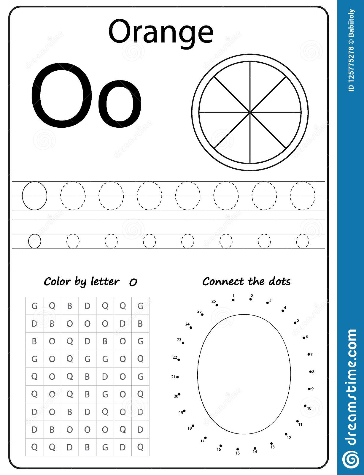 Writing Letter O Worksheet Writing A Z Alphabet