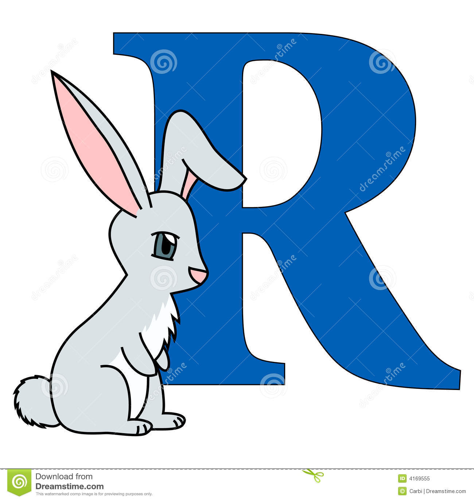 Alphabet Letter R Stock Vector Illustration Of Symbols