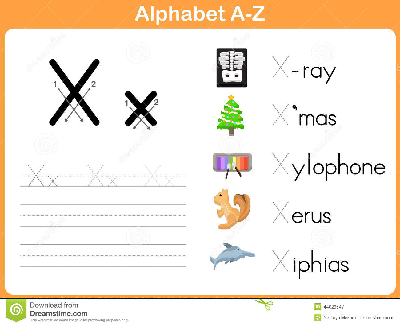 Alphabet Tracing Worksheet Stock Vector Illustration Of Educate