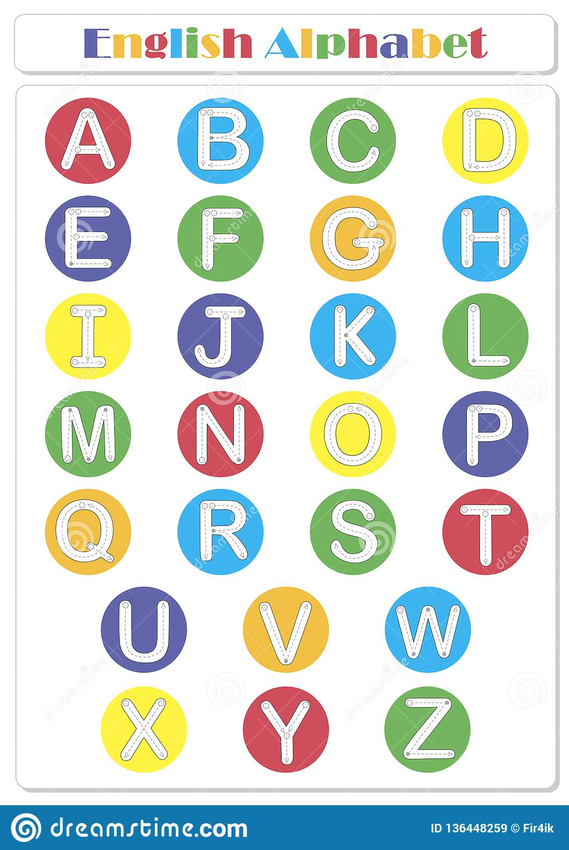 Alphabet Tracing Worksheet Writing A Z And Educational