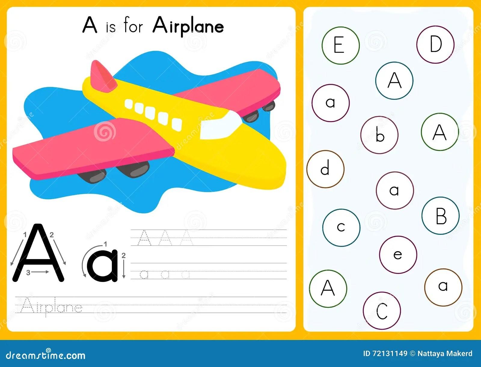 Preschool Alphabet Letters Worksheet Dreamstime Preschool Best Free Printable Worksheets