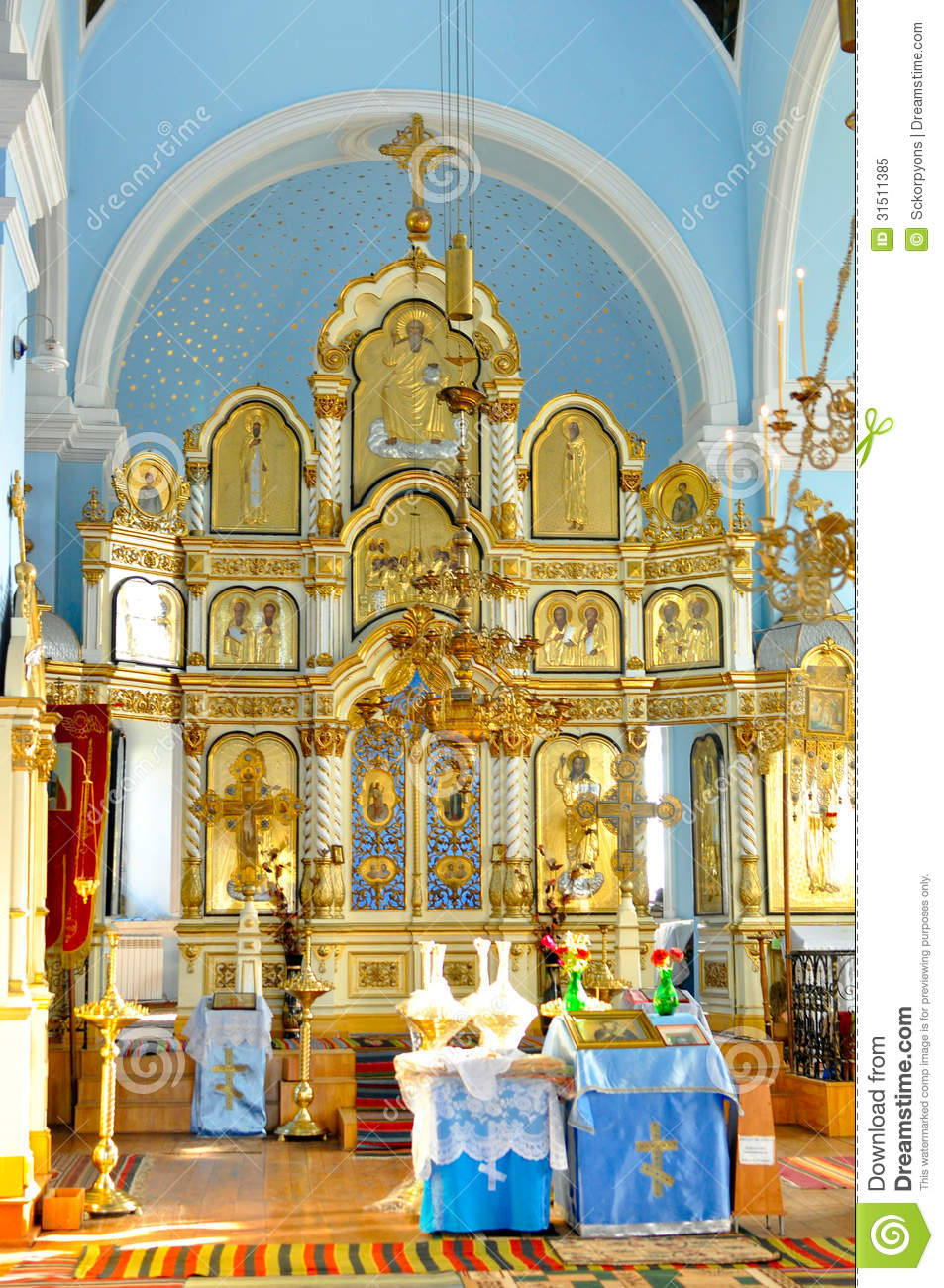 Altar Editorial Image Image Of Orthodox Church