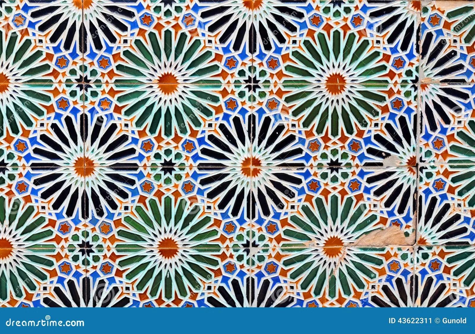 Alte Fliesen stockbild. Bild von gebäude, multi, islamisch
