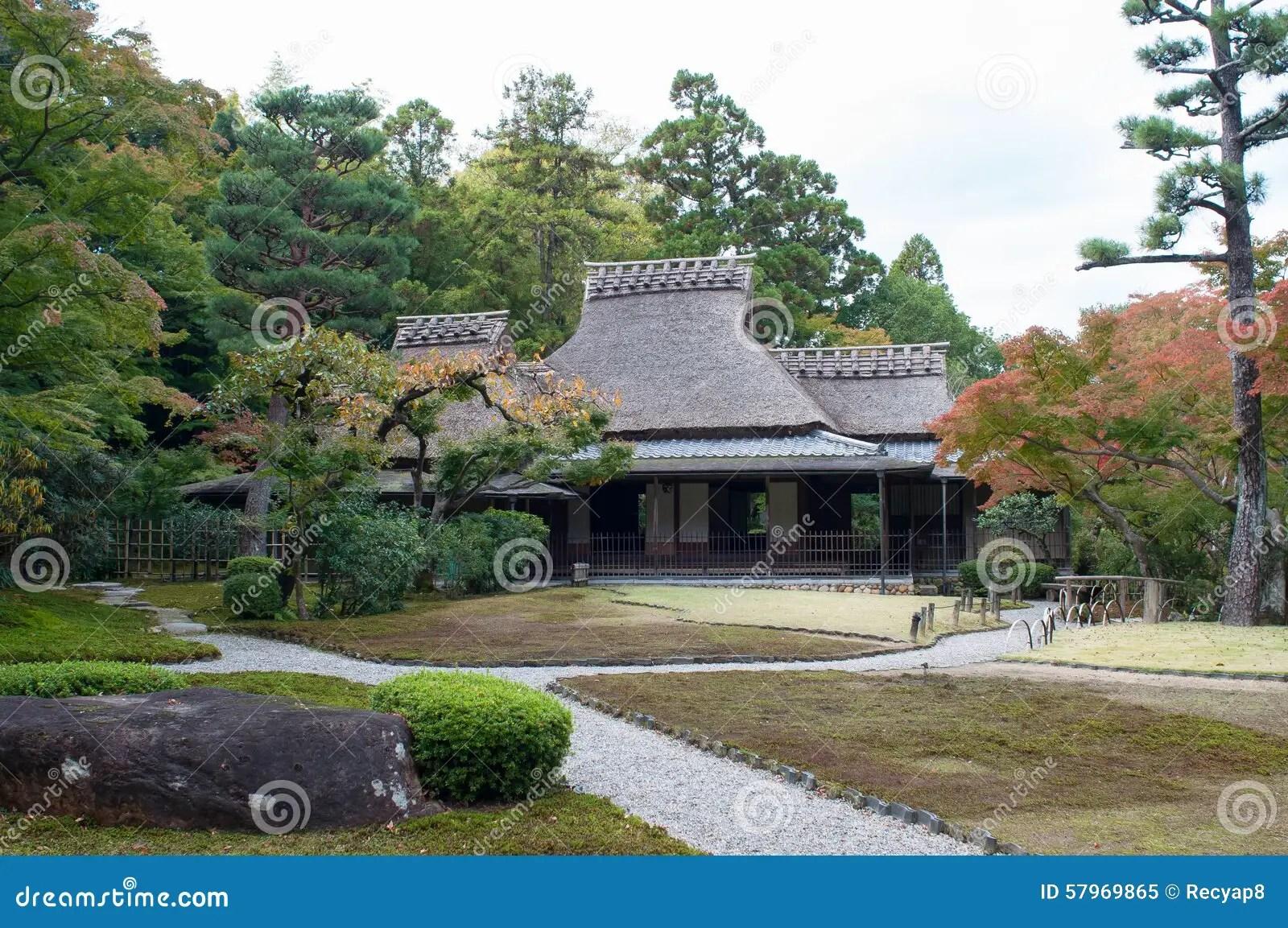 Alte Häuser von Japan stockbild. Bild von traditionell - 57969865