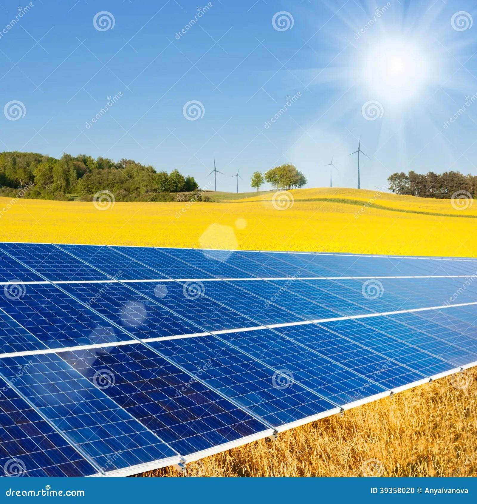 Alternative Energy Sources Stock Photo Image Of Farm