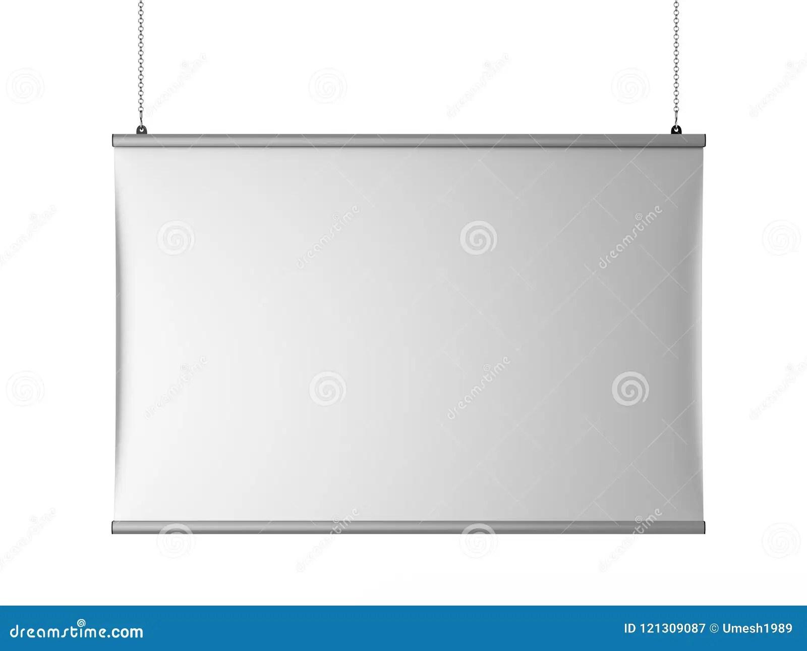 https www dreamstime com aluminum snap grip ceiling banner poster hanger hanging rails d render illustration image121309087