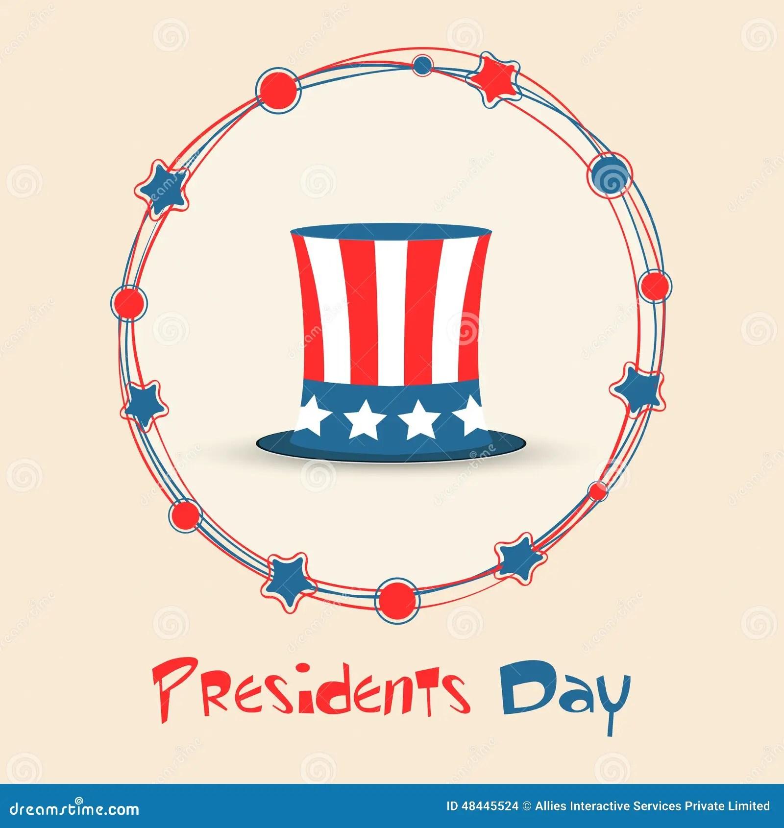 American Presidents Day Celebration Concept Stock