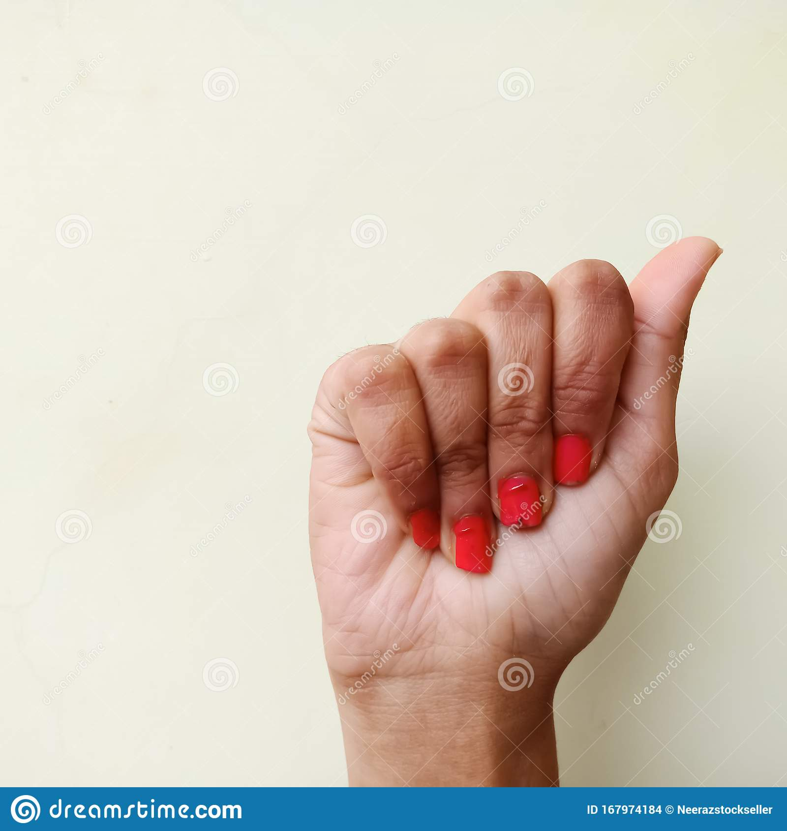 American Sign Language Alphabet Letter A Displayed With