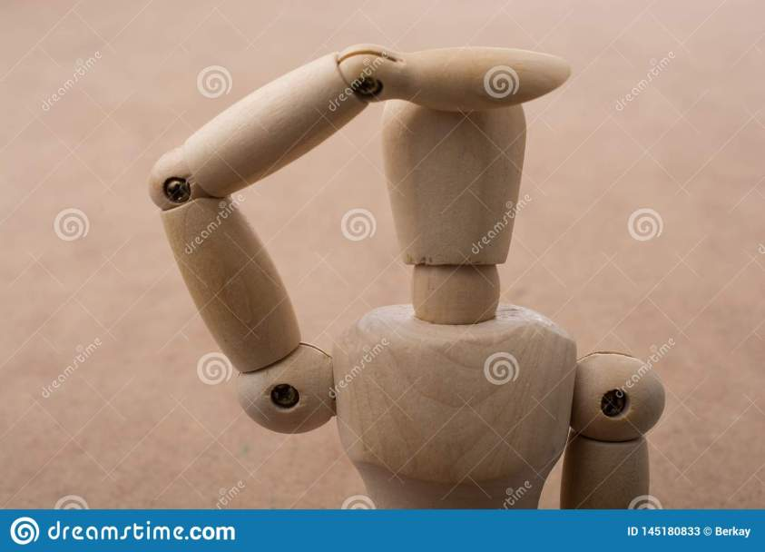 Anatomy Doll Making A Hand Gesture Stock Image - Image of ...