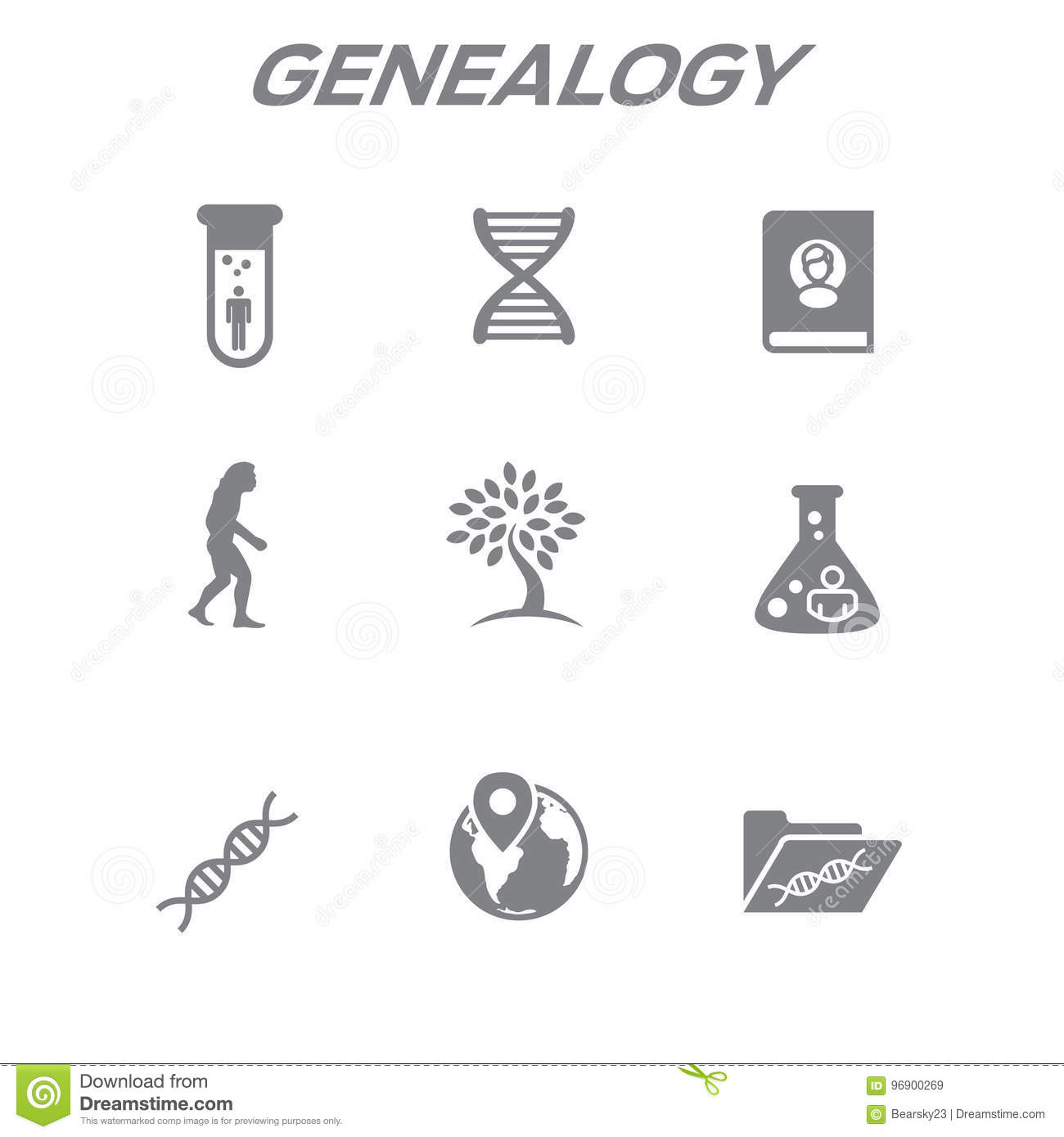 Genealogy Tree Stock Illustrations 635 Genealogy Tree