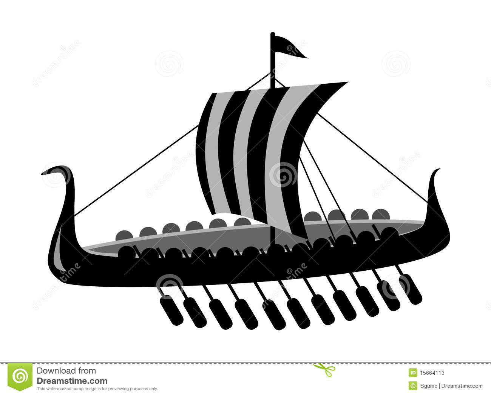 Ancient Battle Ship Stock Photos