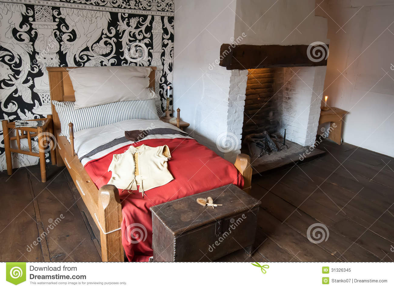 Ancient Bedroom Royalty Free Stock Photo Image 31326345