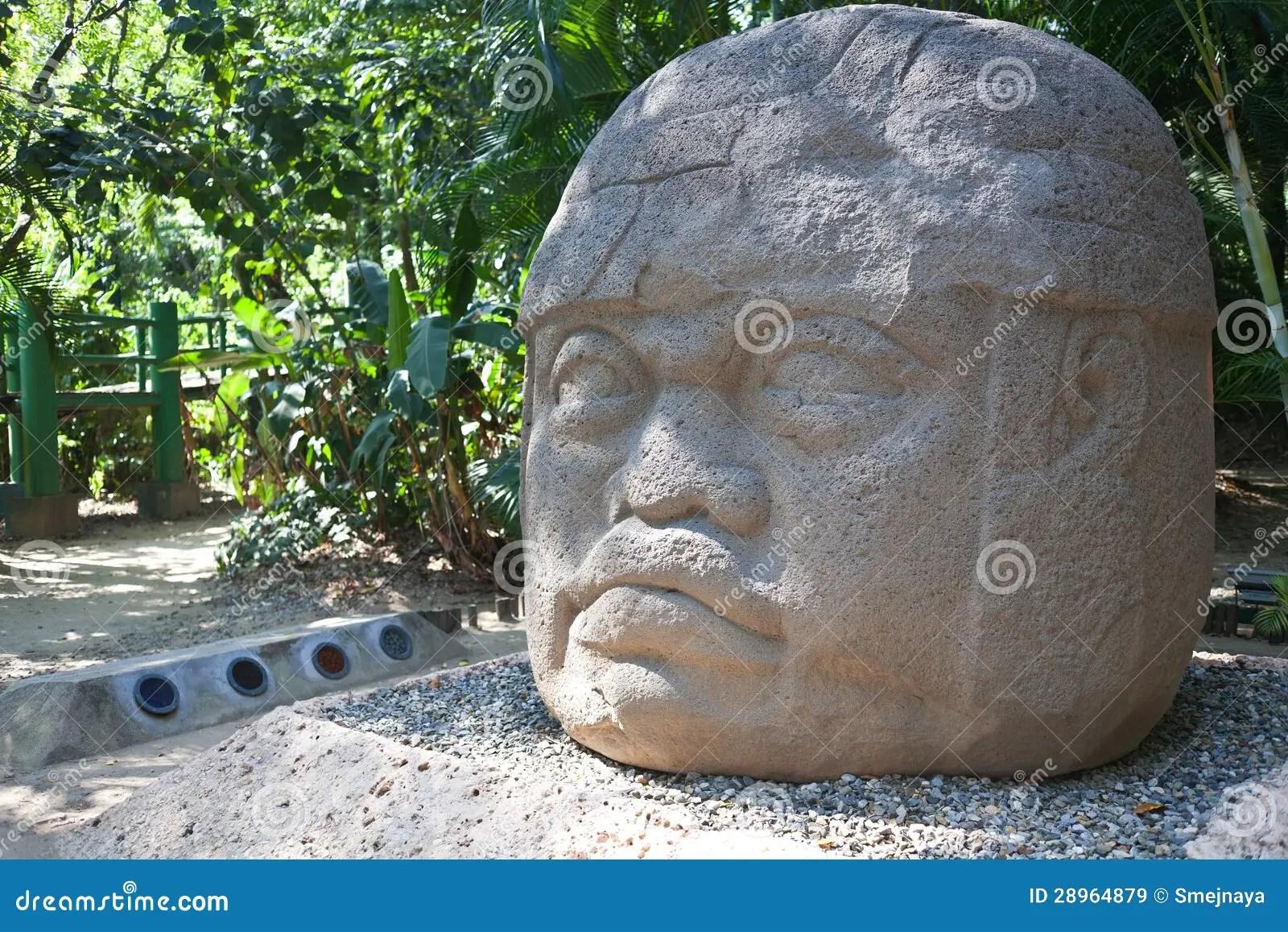 Ancient Olmec Head La Venta Royalty Free Stock Images Image 28964879