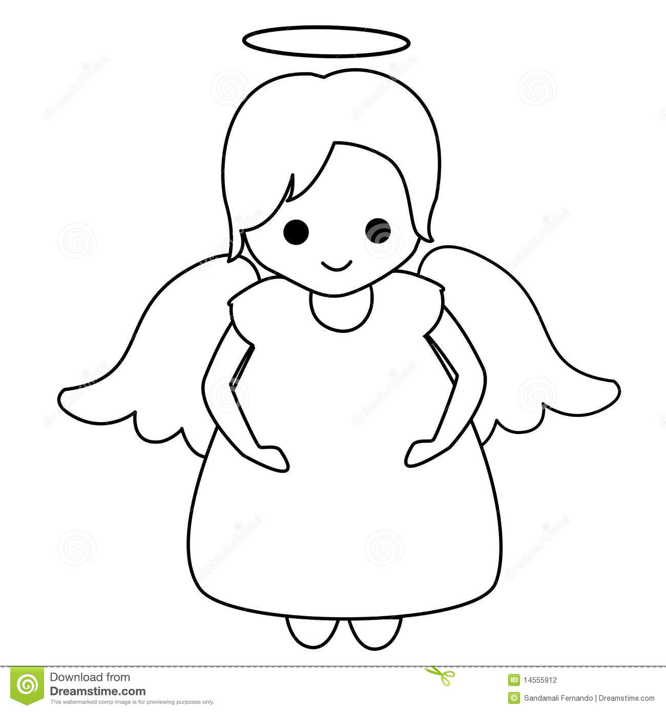 Angel Stock Vector Illustration Of Toddler Princess