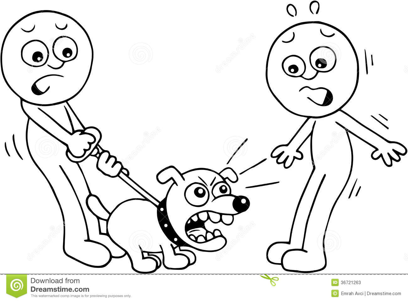 Angry Dog Barking Stock Illustration Illustration Of Dogs