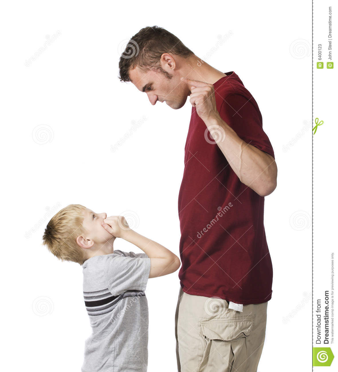 Angry Parent Stock Image Image Of Punish Arms Father