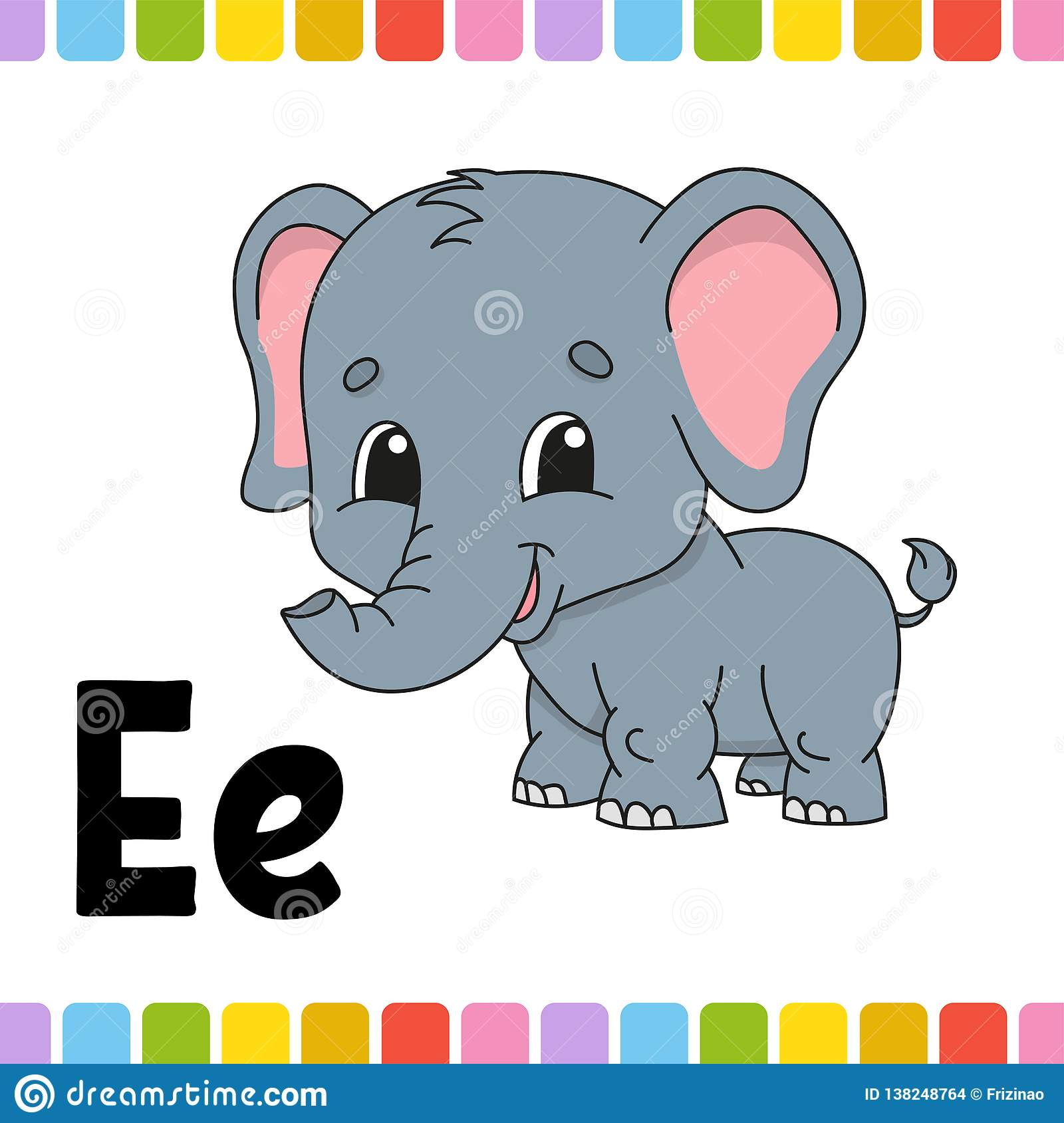 Flashcard Letter Y Is For Yam Cartoon Vector