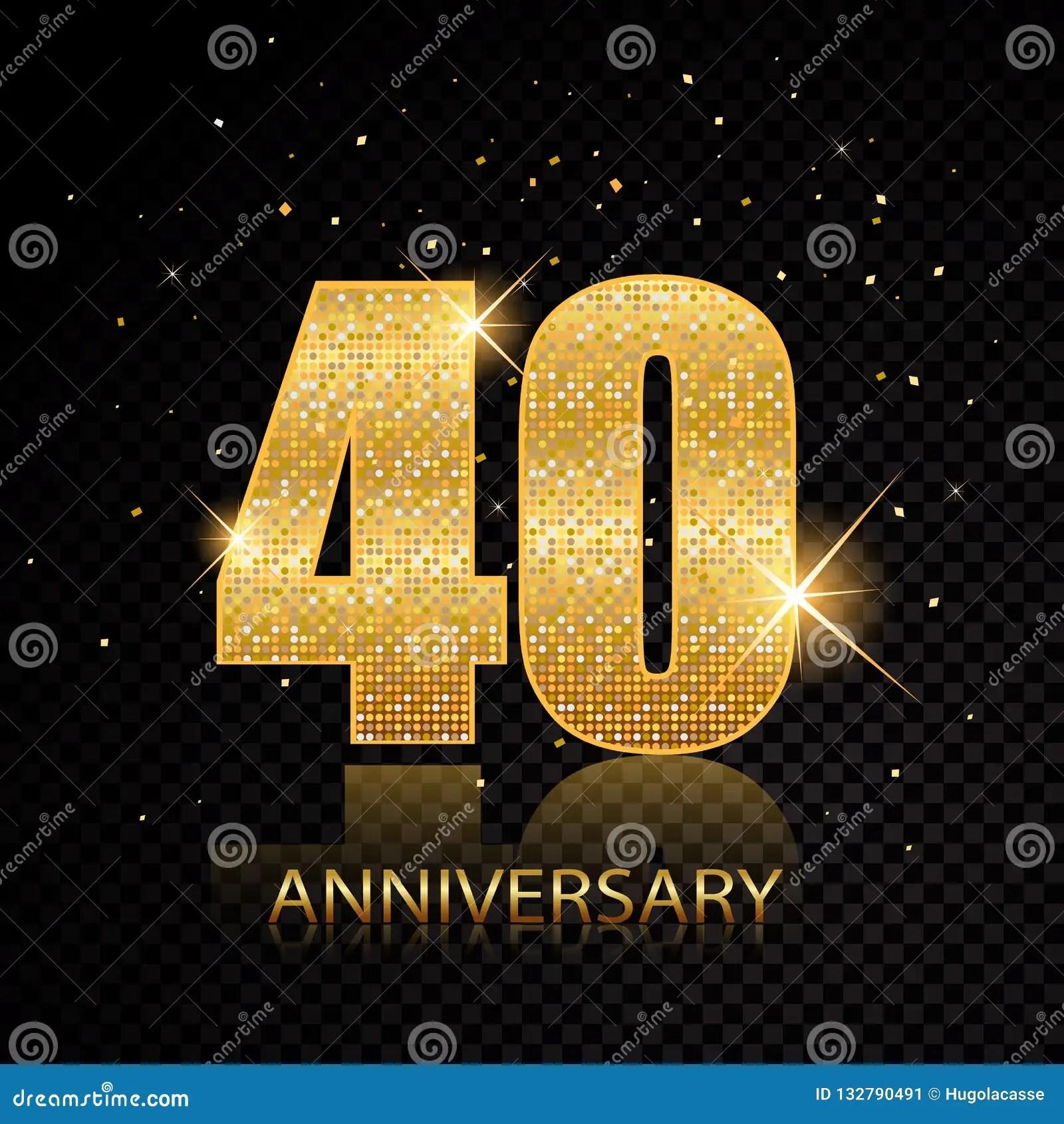 Aniversario Feliz Vector