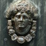 An Antique Door Knocker Stock Photo Image Of Metalwork 35313998